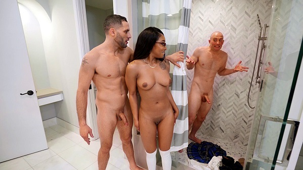 Teen Lala Ivey gets caught cheating in the bathroom