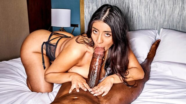 Curvy Brunette Violet Myers Takes On The Biggest BBC XXX Sexy Xmovies